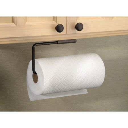 Paper Towel Cabinet Mount by Interdesign Swivel Paper Towel Holder For Kitchen Wall