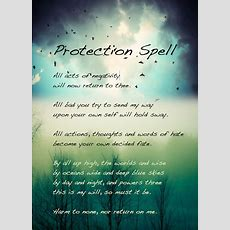 Protection Spell  Samantha Mars