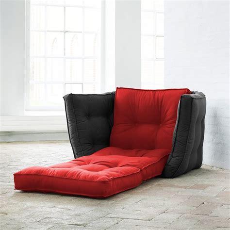 canapé bicolore chauffeuse bicolore convertible matelas futon dice futon