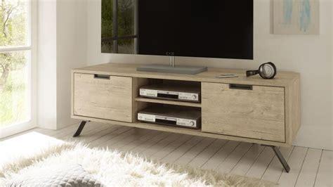 canape a angle meuble tv design nekho bois avec pied métal mobilier moss
