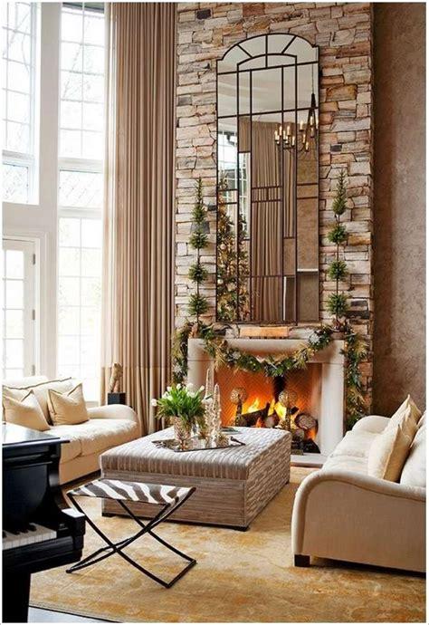 fireplace surrounding wall decor ideas