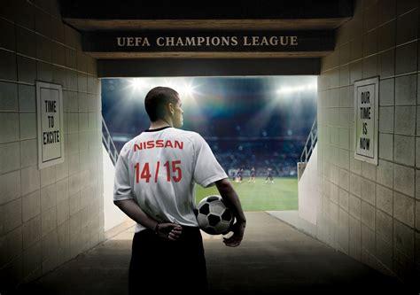 Nissan Sponsorship by Nissan Nouveau Partenaire Mondial De L Uefa Chions