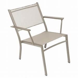 Mobilier De Jardin Fermob : fauteuil bas costa fauteuil de jardin en toile pour salon de jardin ~ Dallasstarsshop.com Idées de Décoration