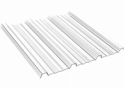 Trimdek Clear Series Polycarbonate Plastic Corrugated Panels