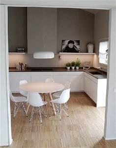 Peinture Argentée Pour Bois : quelle peinture pour une cuisine blanche d co cool ~ Teatrodelosmanantiales.com Idées de Décoration