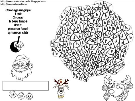 coloriage magique qui represente  renne le decodage