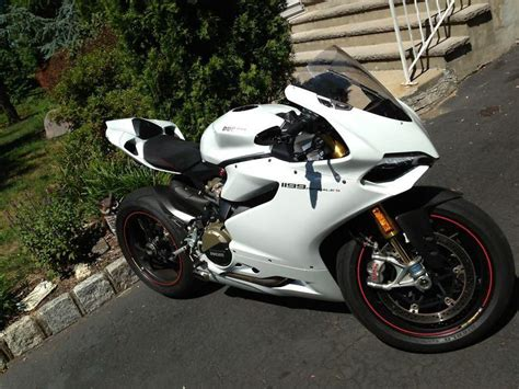 Ducati Panigale White by 2013 Ducati 1199s Panigale S Abs White W Tons For Sale On