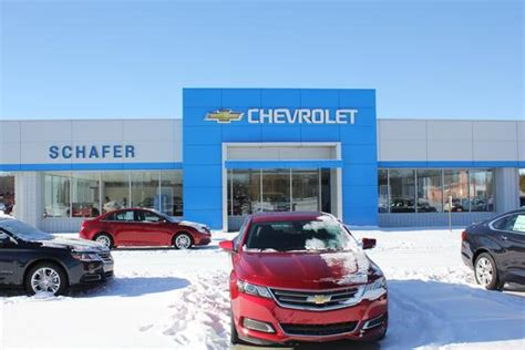 Schafer Chevrolet Car Dealership In Pinconning, Mi 48650