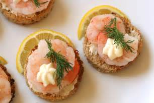 What To Get For Bridal Shower by Shrimp Canapes A La Suede