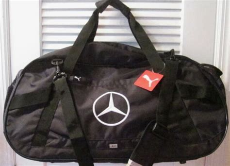 Обувь и одежда mercedes amg petronas. PUMA MERCEDES BENZ Black Duffle Golf Gym Bag Luggage Soccer Shoulder Strap for sale online | eBay