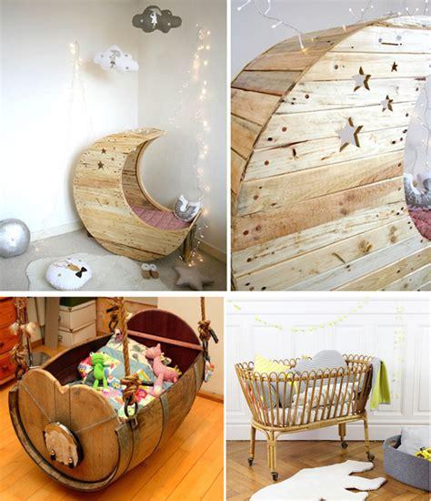 décoration chambre bébé avec matériaux de récupération