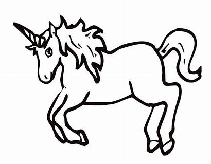 Coloring Unicorn Pages Cartoon Popular