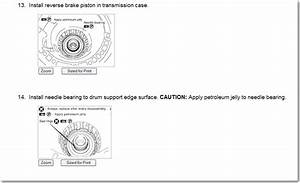 I Am Rebuilding A 2006 Nissan Pathfinder Se Automatic Transmission But Do Not Know Where The