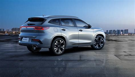 exeed tx chinas chery launches  brand  suv