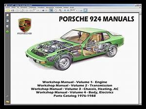 Porsche 924  1976-1988  - Service Manual - Wiring Diagram