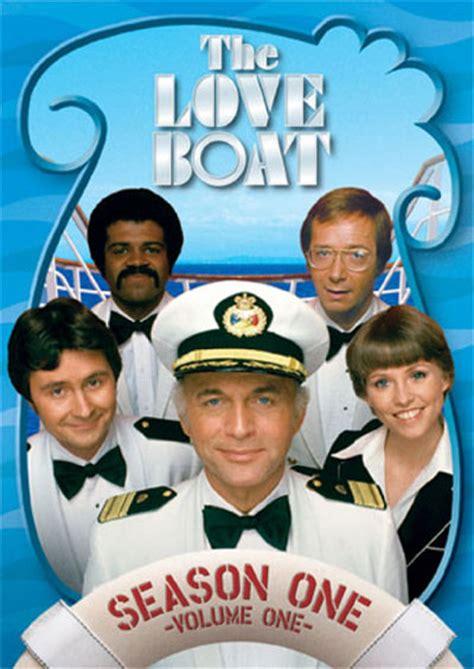 leslie nielsen the love boat the love boat dvd news cover art for the love boat