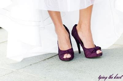 plum colored shoes tying the knot a wedding inspiration poll the