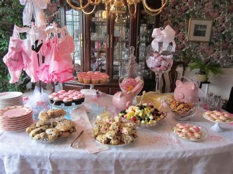 baby shower food table party ideas simple baby shower