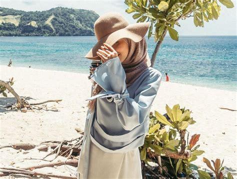 wah    tips menggunakan busana hijab   pantai fashion beautynesia