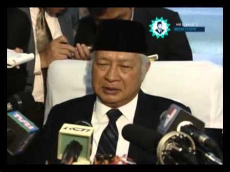 keterangan pers presiden soeharto di pesawat setelah