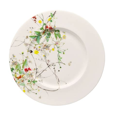 Rosenthal Fleurs Sauvages by Brillance Fleurs Sauvages Brotteller 19 Cm Selection