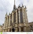 Exterior Of Sainte-Chapelle In Paris Editorial Photo ...