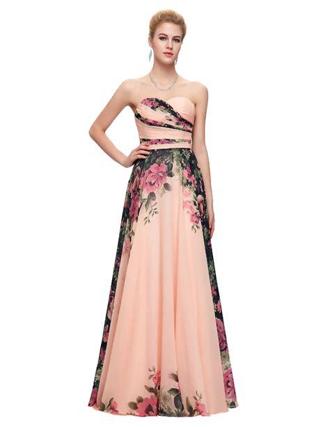 ヾ ノgrace Karin Long ᗕ Evening Evening Dress Floral