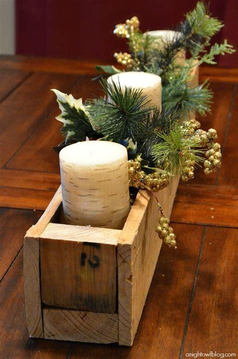 diy pallet wood centerpiece box pallet planters