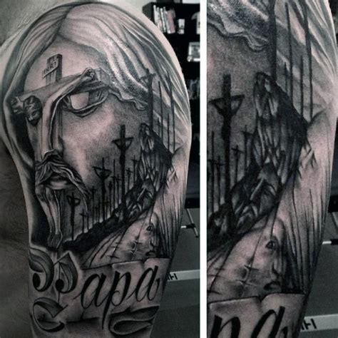 christian tattoos  men manly spiritual designs