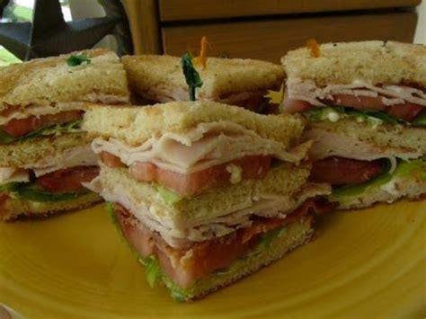 classic club sandwich     clubhouse sandwich