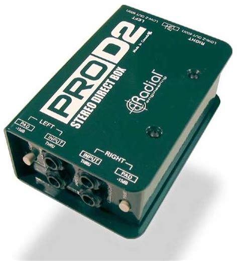 Calendrier des matchs en direct. Radial Pro D2 Direct Box | zZounds