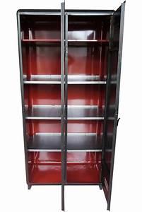 Etagere Industrielle Vintage : armoire industrielle atelier vintage mobilier ~ Teatrodelosmanantiales.com Idées de Décoration