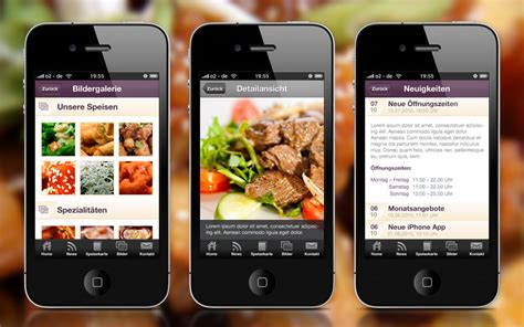 application android cuisine restaurant mobile apps android iphone or both mobile