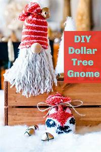 diy dollar tree gnome for the how to home