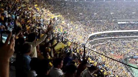 vamos america  el estadio lleno en la final  cruz