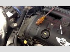 08 R56 MINI COOPER N12 VANOS Solenoid replacement YouTube