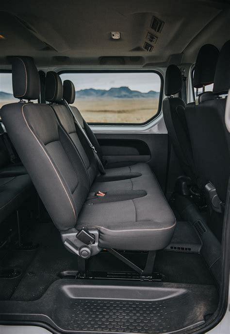 rent  renault traffic  passenger minivan  iceland