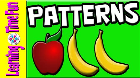 patterns for learn patterns preschool patterns 902 | maxresdefault