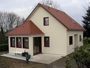 derouet constructeur de maison bois en mayenne 53 With veranda sur terrasse bois