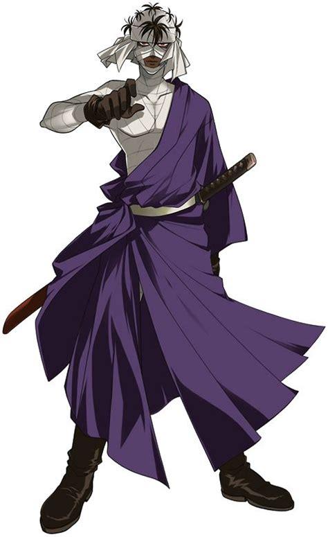 shishio makoto samurai  anime personagens de anime