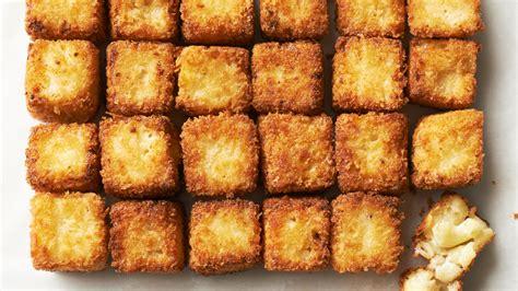 fried macaroni  cheese bites