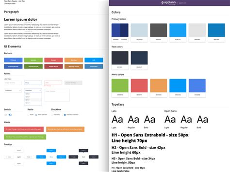 Design Guide by Design Style Guide Sketch Freebie Free Resource