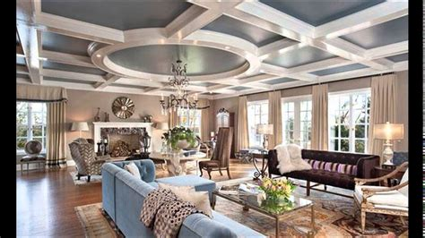 living rooms  coffered ceiling designs youtube