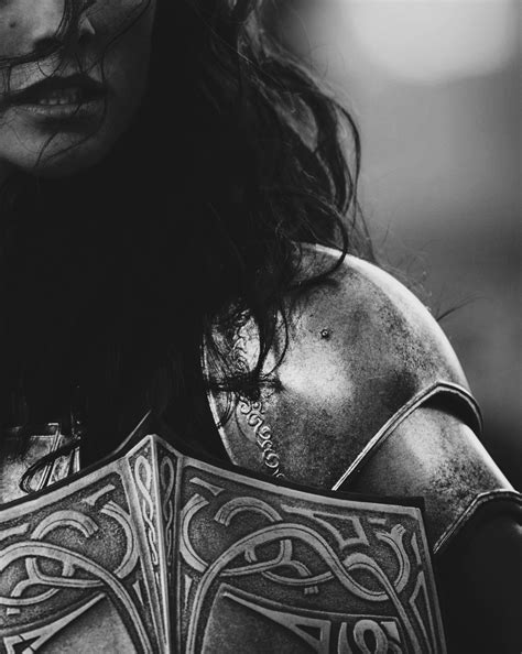 Female knight in armour, face close up | Visual writing prompt & woman character inspiration