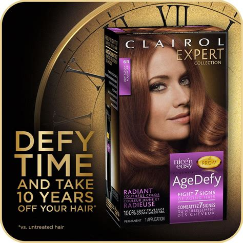 Amazon.com : Clairol Age Defy Permanent Hair Color, 6R