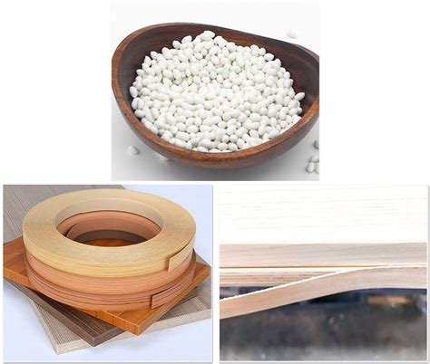 customized abs edge banding glue hot melt adhesive manufacturers factory  sample fshj