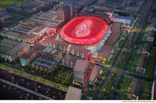2014 15 Nba Standings by Red Wings Reveal Plans Renderings For New Arena To Open