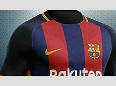 A new version of Barcelona's 201819 kit appears