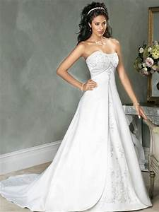 the reasons to choose empire waist wedding dresses With empire waist wedding dress