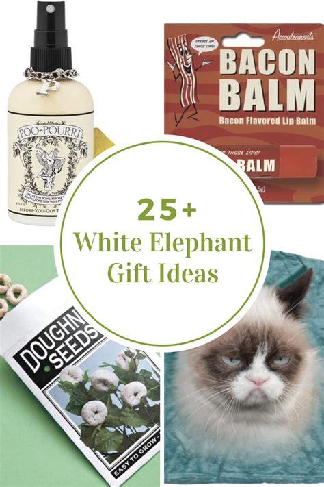 white elephant gift ideas the idea room